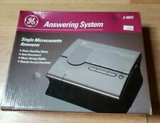 GE Model 2-9815 Answering Machine System Time Stamp