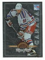 1997-98 Leaf International #8 Wayne Gretzky New York Rangers