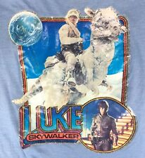 1980 STAR WARS Vintage T-SHIRT Luke Skywalker Kids Sz M or L Iron-On Glitter ESB