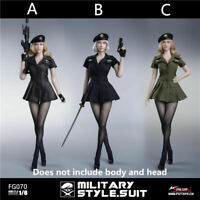 Fire Girl Toys 1/6 Female Combat Sexy Costume US Military Style Pantyhose FG070