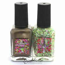 Lynnderella Mystery Polish Set—Spumoni Parfait and On Top of Spumoni