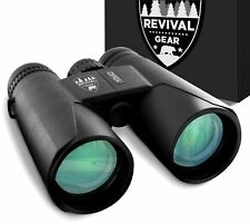10x42 Revival Gear Binoculars for Adults : Bird Watching, Hunting, Fishing ...