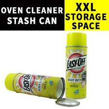 STASH CAN OVEN CLEANER DIVERSION SAFE HIDDEN HIDE MONEY JEWELRY CASH SAFES MONEY