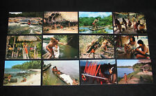 LOT 12 CPSM GUYANE FRANCE INDIEN WAYANA PIROGUE OYAPOC HAUT ITANY ILES SALUT ETC