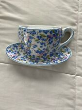 A Special Place Blue Collection Tea Cup Wall Pocket 2004