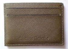 Porte carte crédit cuir de bovin gris Gastinne Renette Made in France Neuf
