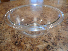 Vintage 1960s 0r 1970s Clear PYREX  322  1 L  Nested Mixing Bowl