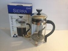 Epoca Sierra French Press Coffee Maker Cafe Classic Carafe Stainless Steel 8 Cup