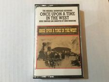 Once Upon A Time In The West-Ennio Morricone-US Soundtrack Cassette-Sergio Leone