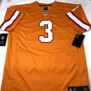 Tampa Bay Buccaneers Throwback Jameis Winston Nike Orange Jersey Youth X-Large