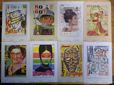 French Paper Charles Anderson Csa Design Family Portraits Postcards set of 35