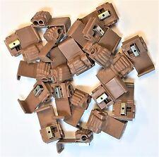 3M  902 Brown Quick Splice Connector - 18-14 to 12-10 Gauge  50 pack