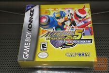 Mega Man Battle Network 5: Team Protoman (Game Boy Advance, GBA) FACTORY SEALED!