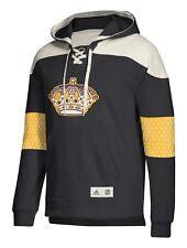 """Los Angeles Kings Adidas NHL Men's """"Crossbar"""" Vintage Jersey Sweatshirt"""