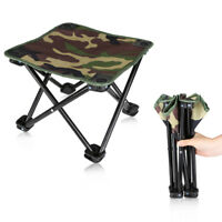 Lightweight Camouflage Folding Camping Chair Portable Outdoor Beach Hiking Seat