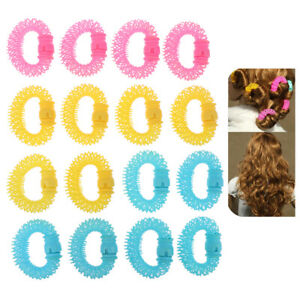 16Pcs New Magic Hair Curler Spiral Curls Roller Donuts Curl Hair Styling Tool
