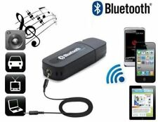 USB Bluetooth Audio Music Receiver 3.5mm Adapter Dongle For Speakers Car MP3