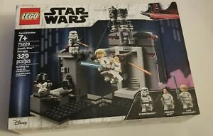 LEGO 75229 Star Wars Death Star Escape 329pc NIB, Luke, Leia & Trooper - Retired