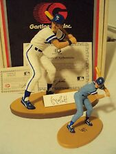Gartlan George Brett Hand-Signed Figurine + Mini Both w/COA's & Boxes!