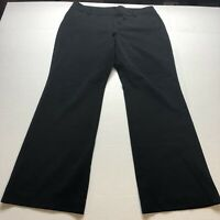 Ann Taylor Curvy Fit Black Dress Pants Size 14 A1471