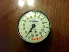 Oceanic 150' Oil Filled depth gauge in Excellent Condition.