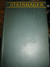 STEINHAUER THE KAISER'S MASTER SPY AS TOLD BY HIMSELF 1930 1ST EDITION  HB