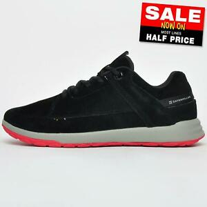 SALE Caterpillar CAT Quest Men's Casual Urban Outdoor Leather Trainers Shoes