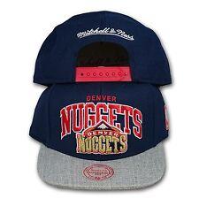 Original Mitchell & Ness Denver Nuggets Snapback Cap NBA Forward Line EU435 navy