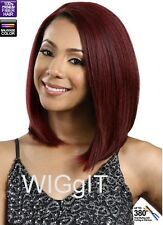 COPPER BOB | AUBURN/BLACK/WINE/BLUE | SYNTHETIC |  LACE FRONT WIG | BOBBI BOSS