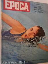 EPOCA 31 luglio 1960 Diana di Francia John Kennedy Storia delle Olimpiadi ONU di