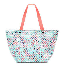Fossil KEYPER Blue Multi EW Tote Shoulder Bag Satchel Handbag Hobo ZB5758 NWT