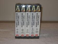 THE CAROL BURNETT SHOW 5 VHS TAPES NEW SEALED