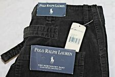 NWT POLO RALPH LAUREN Men's 33 X 36 Buckle Back Cotton Northport Relaxed Pants