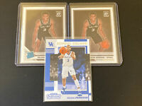 2 Keldon Johnson 2019-20 Donruss Optic Rated Rookie RR RC #186 Spurs (3) Lot📈🔥
