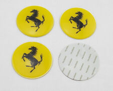 4x Stickers Caps 56mm For Ferrari Centre Hub Wheel Cap Emblem Sticker Sport,UK