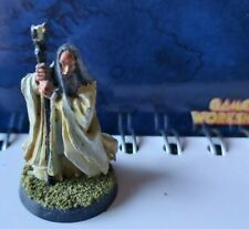 GAMES WORKSHOP LORD OF THE RINGS METAL TWO TOWERS SARUMAN WELL PAINTED