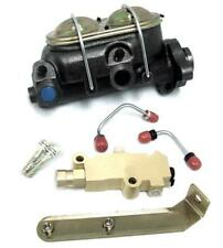GM A-Body Manual Master Cylinder w Bleeders + Disc Drum Proportioning Valve Kit