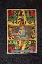 Bob Marley Tour Poster 1979 Apollo Theater New York City