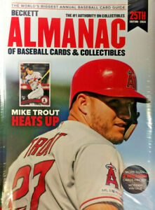 2020 Beckett Almanac Of Baseball Cards & Collectibles Price Guide #25 Mike Trout