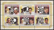 Guinea-Bissau Chess Champions: Spassky, Fischer, Karpov, Kasparov, Kramnik -pw69