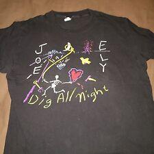 Joe Ely dig all night Tour T-shirt