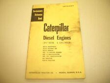 Caterpillar Diesel Engines 4 12 Bore 6 Cyl Servicemens Ref Form Feo30238 04