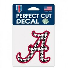 "Alabama Crimson Tide 4"" x 4"" Pattern Logo Truck Car Auto Window Die Cut Decal"