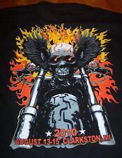 KID ROCK SON OF DETROIT 2010 Clarkston MI TOUR T-Shirt 2XL XXL Mortorcycle NEW