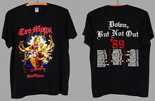 Rare 1989 Cro Mags Down But Not Out Tour Thrash Metal Punk Rock TShirt S - 2XL