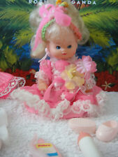 vintage Petra Doll Plasty Puppe Baby Night Star mit extra Kleidung