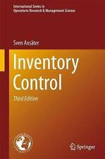 Inventory Control: By Axs?ter, Sven