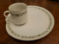"""Service for Ten Mikasa """"MONTCLAIR""""  Fine China Japan Snack Plates & Cups PERFECT"""