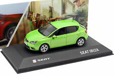 Seat Ibiza IV Año 2008-2017 Face Verde Metálico 1:43 Seat
