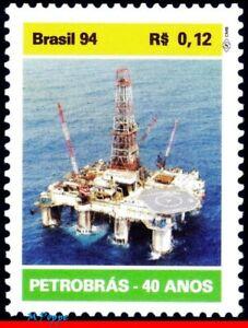 2507 BRAZIL 1994 PETROBRAS, PETROLEUM, OIL EXPLORATION, MI# 2608 RHM C-1906, MNH